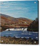 Aasleagh Falls Acrylic Print