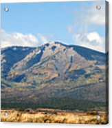 Abajo Mountains Utah Acrylic Print