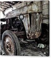 Abanded Tractor 3 Acrylic Print
