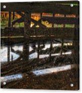 Abandon Dock Acrylic Print