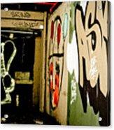 Abandoned And Grunge Acrylic Print