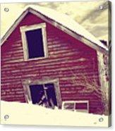 Abandoned Barn Acrylic Print
