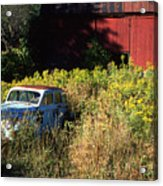 Abandoned Acrylic Print by Barry Shaffer