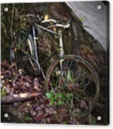 Abandoned Bicycle Acrylic Print