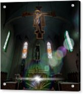 Abandoned Blue Church - Chiesa Blu Abbandonata Acrylic Print