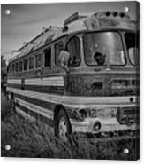 Abandoned Bus Acrylic Print