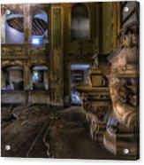 Abandoned Chapel Of An Important Liguria Family II - Cappella Abbandonata Di Famiglia Ligure 2 Acrylic Print