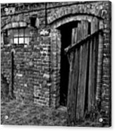 Abandoned Country Barn Acrylic Print