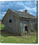 Abandoned Farm Building Acrylic Print
