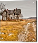 Abandoned Farm House Acrylic Print by Cale Best