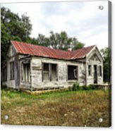Abandoned Farm House Acrylic Print