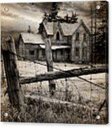 Abandoned Farm House Acrylic Print