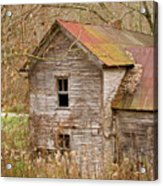Abandoned Farmhouse In Kentucky Acrylic Print