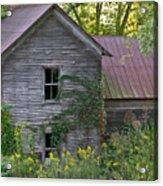 Abandoned Farmhouse On Stacy Fork Acrylic Print