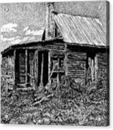 Abandoned Farmhouse Acrylic Print