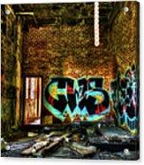 Abandoned, Hdr Acrylic Print