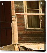 Abandoned House - Abandoned Porch Acrylic Print