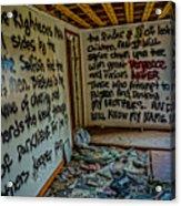 Abandoned House, Full Of Hope Acrylic Print