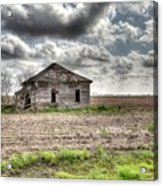 Abandoned House - Ganado, Tx Acrylic Print
