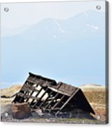 Abandoned In A Sea Of Mining Tailings Acrylic Print