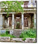 Abandoned In Mostar Acrylic Print