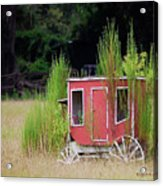 Abandoned In The Field Acrylic Print