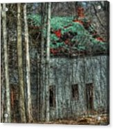 Abandoned In The Woods. Acrylic Print