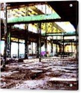 Abandoned Industry Acrylic Print