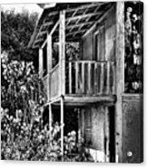 Abandoned, Kalamaki, Zakynthos Acrylic Print by John Edwards