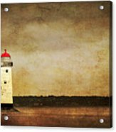 Abandoned Lighthouse Acrylic Print by Meirion Matthias