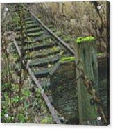 Abandoned Miniature Railway Acrylic Print