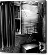 Abandoned Motel Room Acrylic Print