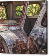 Abandoned Old Truck Newport New Hampshire Acrylic Print