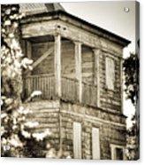 Abandoned Plantation House #4 Acrylic Print