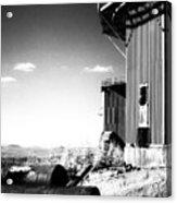 Abandoned Radar Acrylic Print