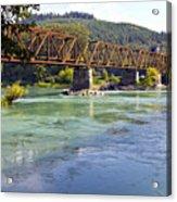 Abandoned Railroad Bridge Acrylic Print