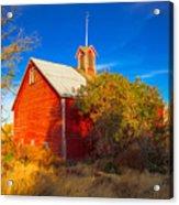 Abandoned Red Barn Acrylic Print