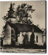 Abandoned Religion  Acrylic Print