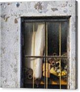 Abandoned Remnants Ala Grunge Acrylic Print