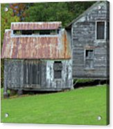 Abandoned Shack By The Road Acrylic Print