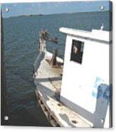 Abandoned Shrimpboat Acrylic Print