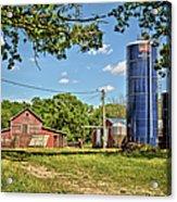 Abandoned Spring Farm Acrylic Print