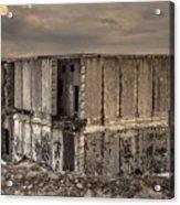 Abandoned Station Acrylic Print
