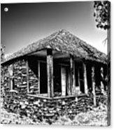 Abandoned Stone House Acrylic Print