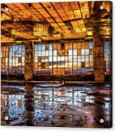 Abandoned Sunset Acrylic Print