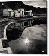 Abandoned Swimming Pool Acrylic Print
