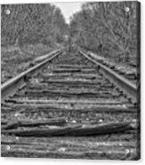 Abandoned Tracks Acrylic Print