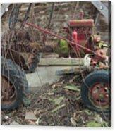 Abandoned Tractor Acrylic Print