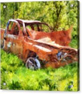 Abandoned Truck Acrylic Print