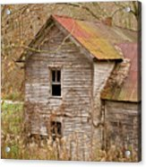 Abandoned Turn Of Centruy Home Acrylic Print